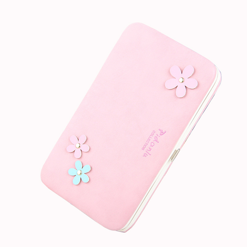 2017 New Arrival Candy Color Women Money Wallet Convenient Long Purse Girls Storage Card Holder Cellphone Clutch Bag Coin Pocket