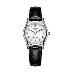 Casio relógio ponteiro de metal feminino relógio LTP-1094E-7B