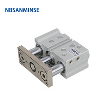 NBSANMINSE MGPL 20mm Bore Compact Guide Cylinder with Stable Lubrication Fuction Compressed Air SMC Type