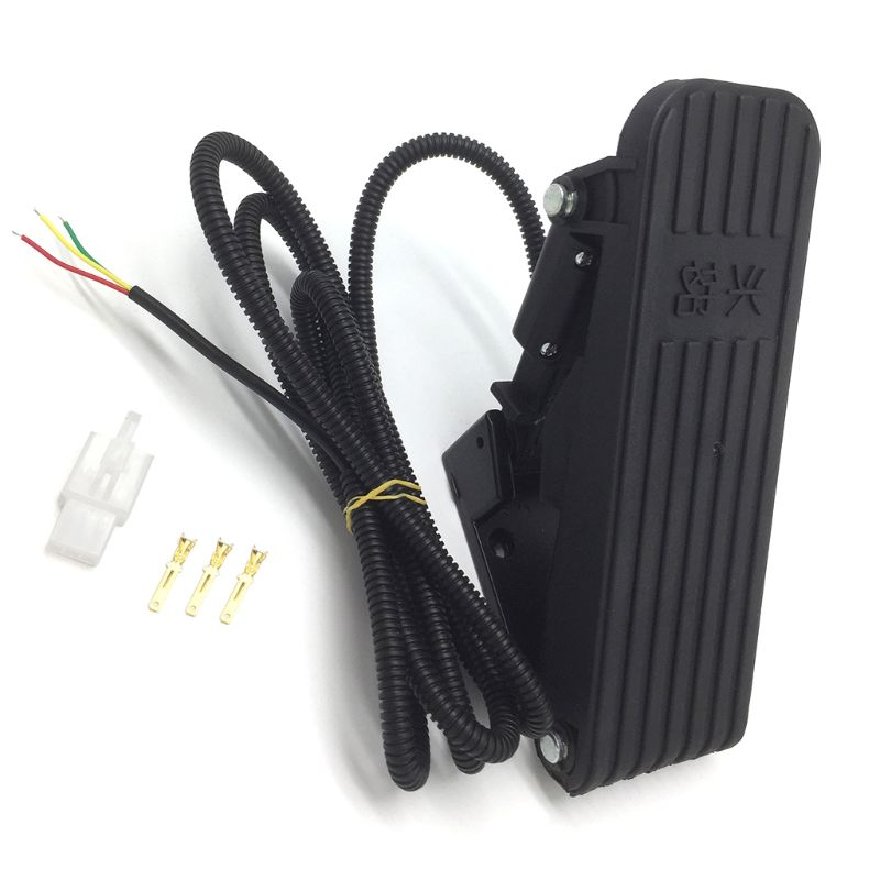 Electric Scooter Foot Pedal Throttle Ebike Electric Tricycle Accelerator Pedal Speed Control Bicycle kit Dec-31
