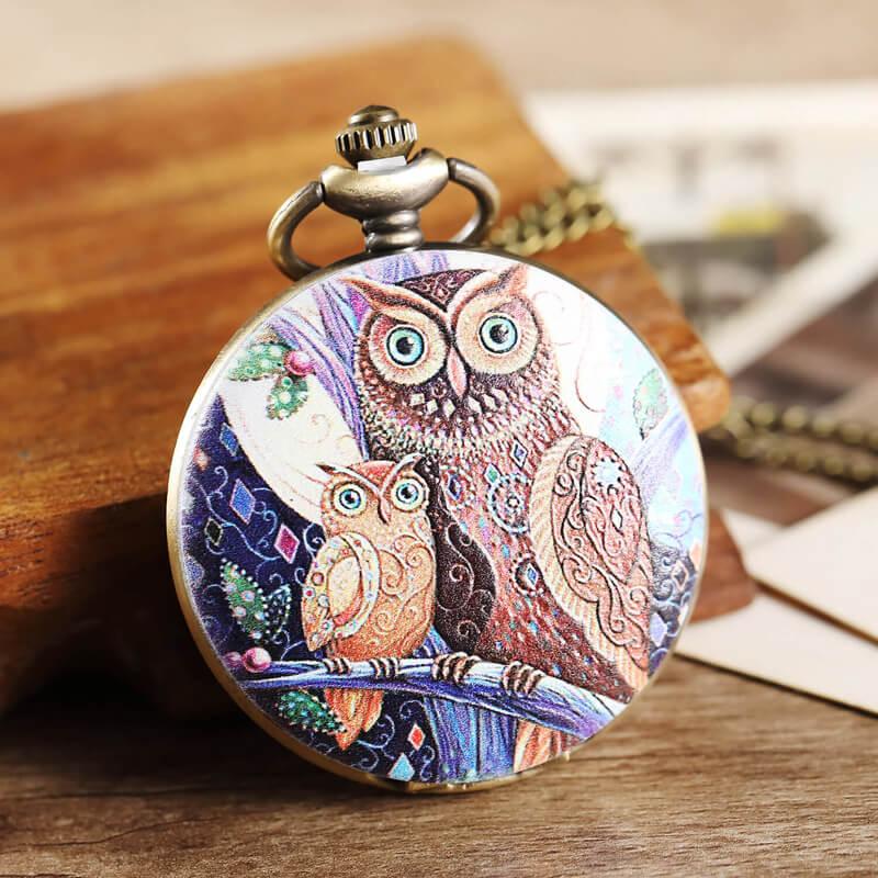 night owl pocket watch