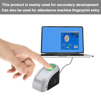Eseye USB Fingerprint Reader Free SDK Fingerprint Sensor USB Biometric Fingerprint Scanner Sensor With SDK Windows Linux