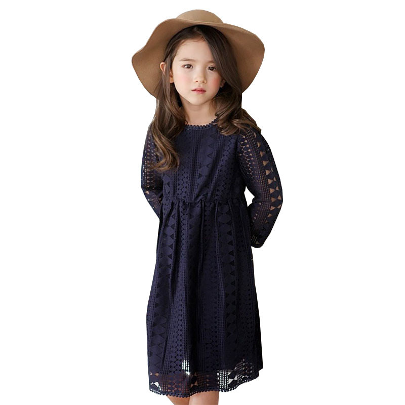 Proljeće ljetni stil Novi stil djevojke slatke čipkaste haljine za - Dječja odjeća