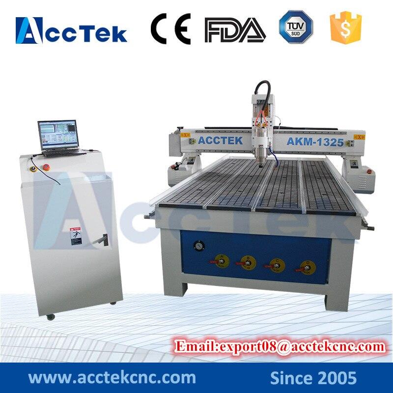4*8 ft CNC gravure sur métal et fraiseuse AKM1325 aluminium CNC gravure machine de découpe prix