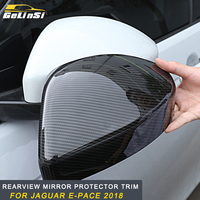 GELINSI For Jaguar E Pace 2018 protector cover trim frame Exterior Accessories Rearview mirror
