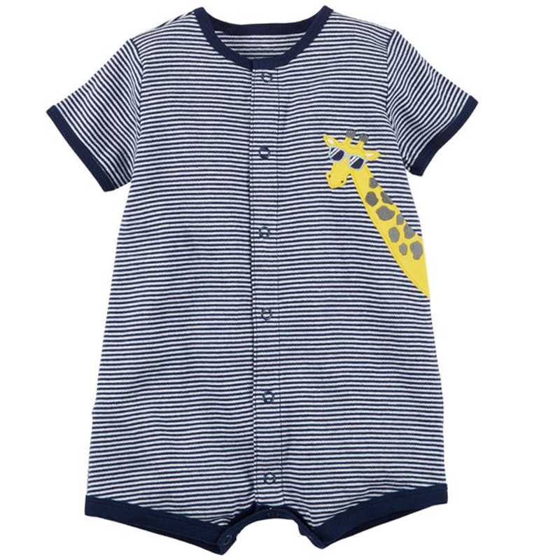 Baby Boy Girl Clothes Newborn Bebes Romper Summer Cotton Short Sleeve Girl Romper Jumpsuit Kids Costumes Outfits Clothes Infant