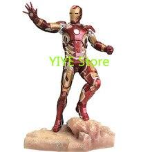 Горячая новинка статуя супергероя Железный человек полная длина портрет резиновая фигурка героя игрушка подарок AG678