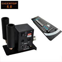 Discount Price Double Pipes CO2 Jet Machine Stage Effect Light CO2 Column With 1pcs DMX 192
