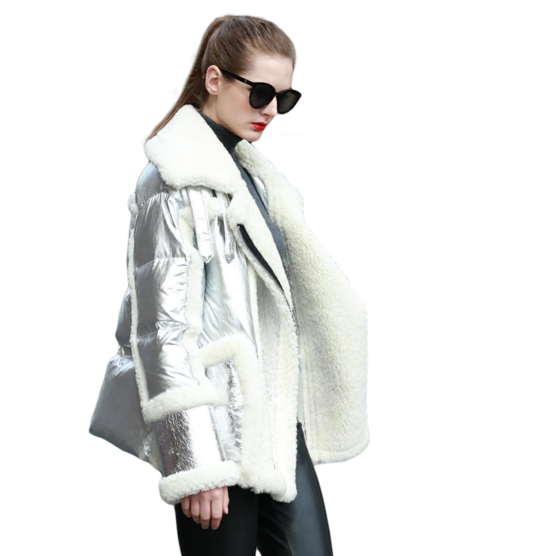 Réel Cuir Mouton Le Naturelle 2018 Plus Color Bas Mode Vestes Fourrure Silvery Manteau black Peau picture Vers Taille Chaud De En Nouvelle Veste Avec La xYqPPZ0nE