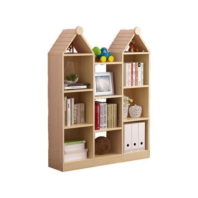 Wall Shelf Bureau Meuble Decoracao Boekenkast Decor Kids Mueble Vintage Wood Decoration Book Furniture Retro Bookshelf