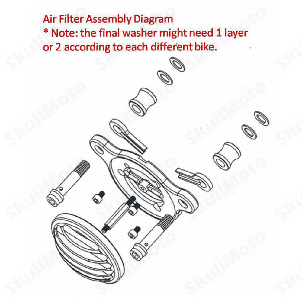High Quality air cleaner intake filter