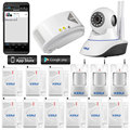 720P HD P2P Wifi network Wireless IP Camera alarm system security camera Baby Monitor  Security Camera Night Vision+gas detector