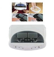 2017 Professional Dual LCD Ion Detox Ionic Foot Bath Spa Cleanse Machine Infrared Belt Large LCD