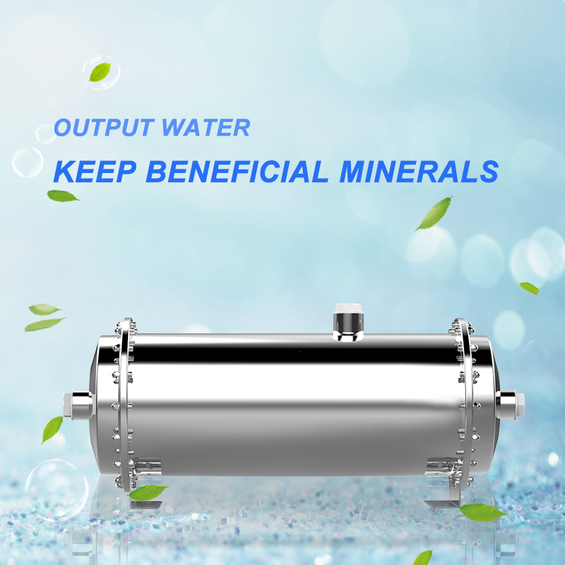 Ultrafiltration series stainless steel 3000G central water purifier for home water treatment