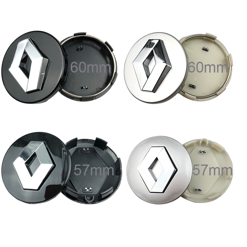 Center-Caps-Accessories Disc-Caps Wheel-Cap Emblem-Hub Scenic 57mm Renault 3-Megane-3
