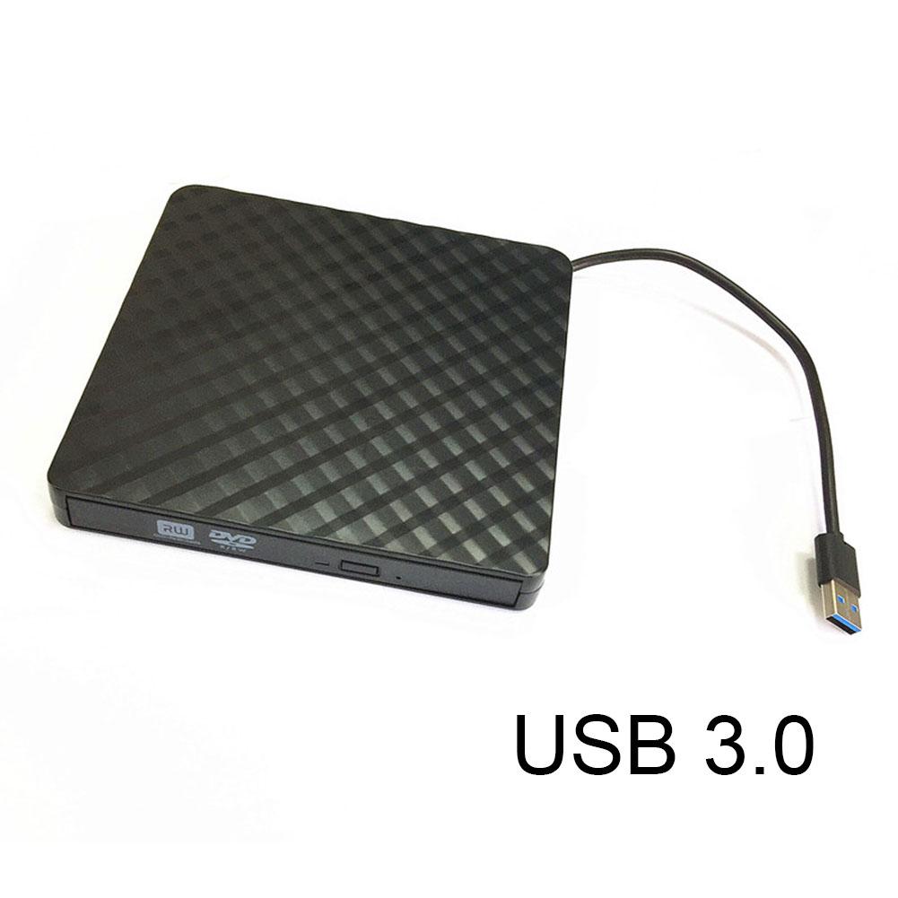 Portable USB3.0 Externe CD/DVD/VCD Lecteur Optique CD-RW Writer Enregistreur Pilote pour PC Ordinateur portable XXM8