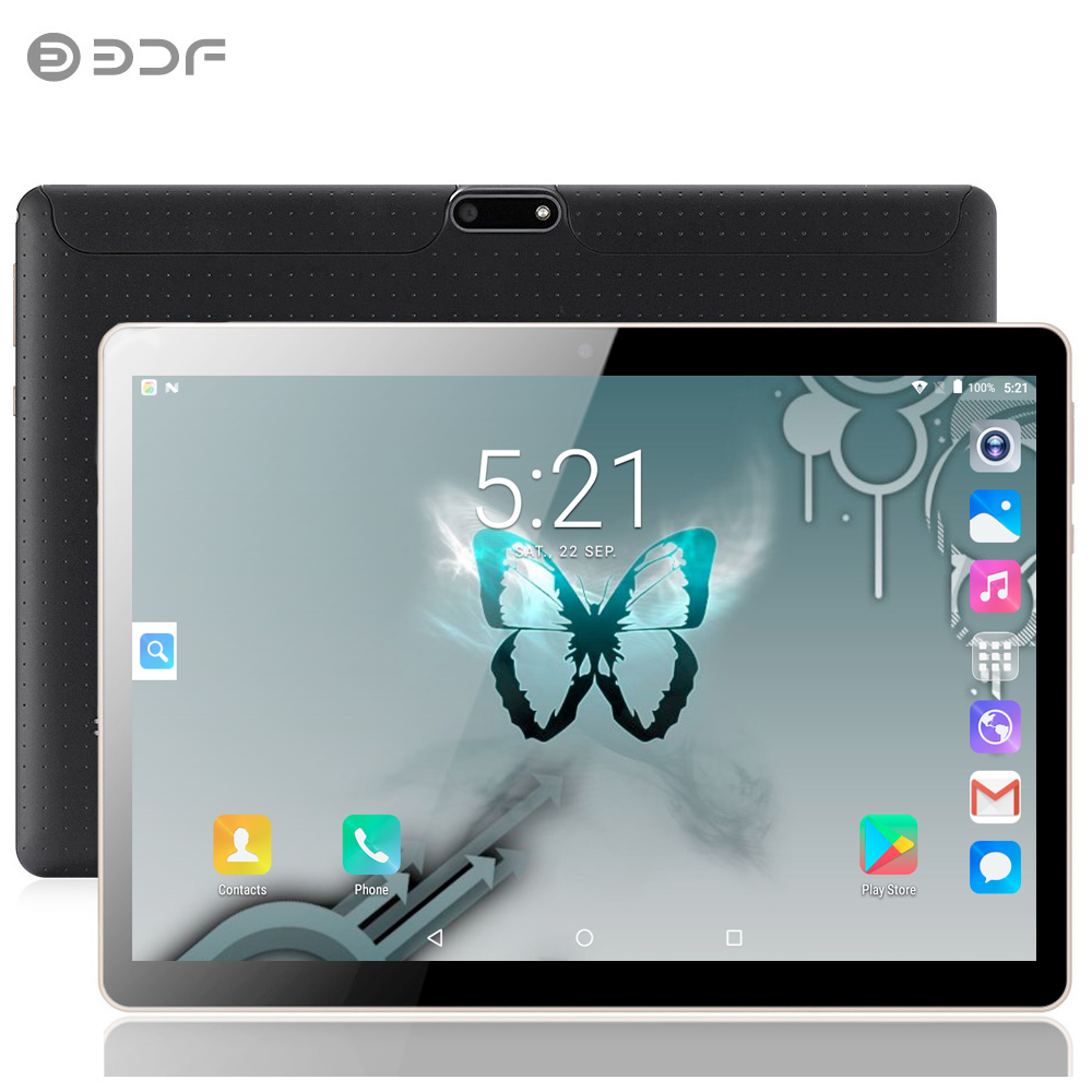 2019 nouvelle tablette Pc 10 pouces Android 7.0 tablettes 4G + 32G Quad Core 3G appel téléphonique IPS pc tablette WiFi GPS 10 pouces tablettes Android