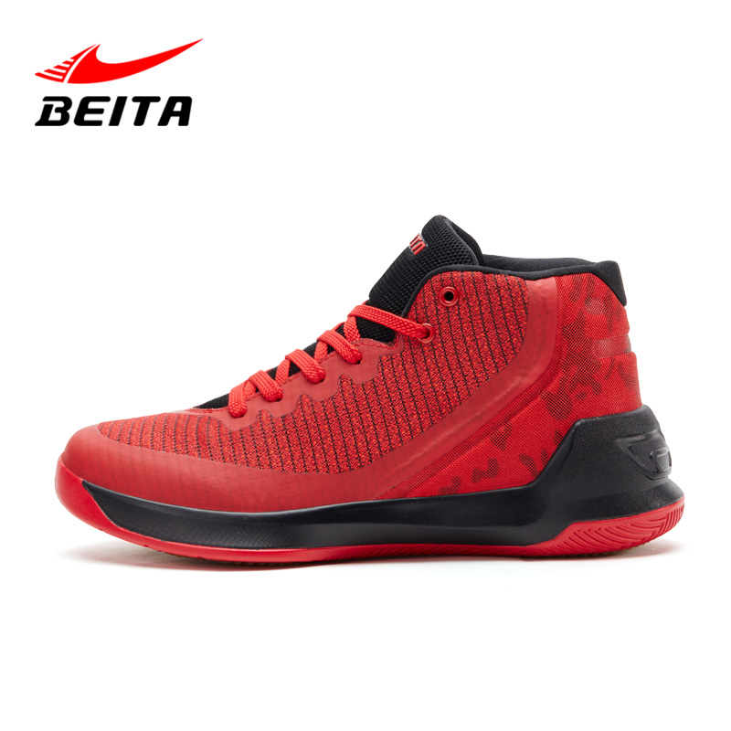 Beita Brand Sport Fashion Lace-Up Outdoor Casual Shoes Men Air-Mesh with Rubber Sole Breathable Superstar Shoes Black and Red 2016 superstar famous designer mixed color air mesh wedges men casual shoes fashion walking outdoor breathable lace up men shoes