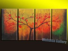 hot saling Free shipping100% handpainted  Modern Abstract Huge Wall Art Oil Painting On Canvas1