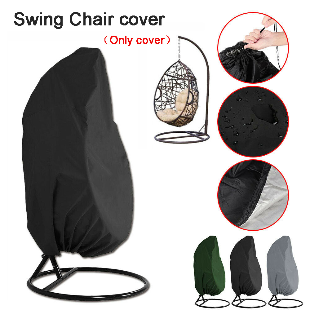 Phenomenal Us 15 51 53 Off Swinging Egg Chair Cover 210D Woven Polyester Waterproof Uv Protect Dust Proof Garden Chair Outdoor Furniture Cover 190X115Cm In Pdpeps Interior Chair Design Pdpepsorg