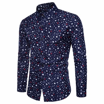 Men Business Long Sleeved Shirt 1