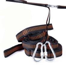Гамак с крючками для наружного использования, 2 шт. веревка для гамака для кемпинга, аксессуары для мебели, ремни для дерева