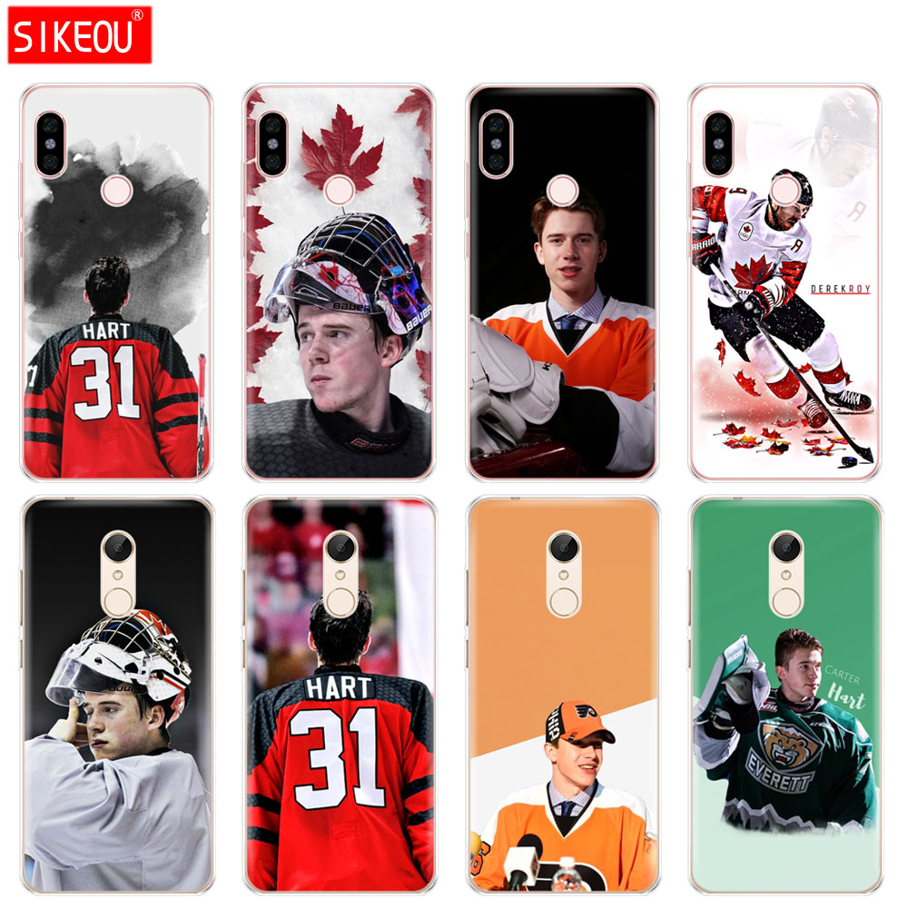 Silicone Cover phone Case for Xiaomi redmi 5 4 1 1s 2 3 3s pro PLUS redmi note 4 4X 4A 5A carter hart derek roy hockey