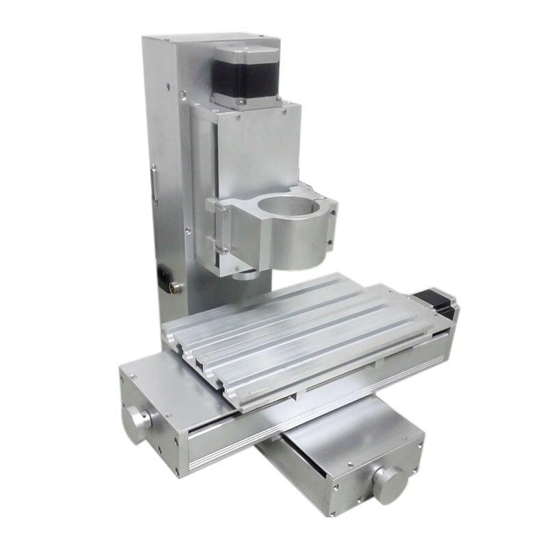 Vertical CNC Engraving Machine Frame Kit XYZ Axis Stroke 250*150*100mm CNC Frame