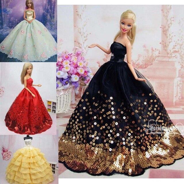 Envío gratis nuevo año navidad regalo vestido de boda de lujo para ...