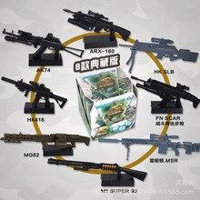 Spielzeug Gewehr Pistole Montiert Simulation Militär Modell Soldat Waffe Kunststoff Gummi 1:6 > 6 Jahre Alt 20 4D Assault AK47 sport