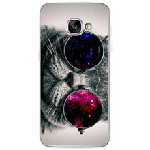 Awesome cat phone covers for Samsung Galaxy S4 S5 S6 S7 Edge S8 Plus A3 A5 2016 2015 2017 Prime J1 J2 J3 J5 J7