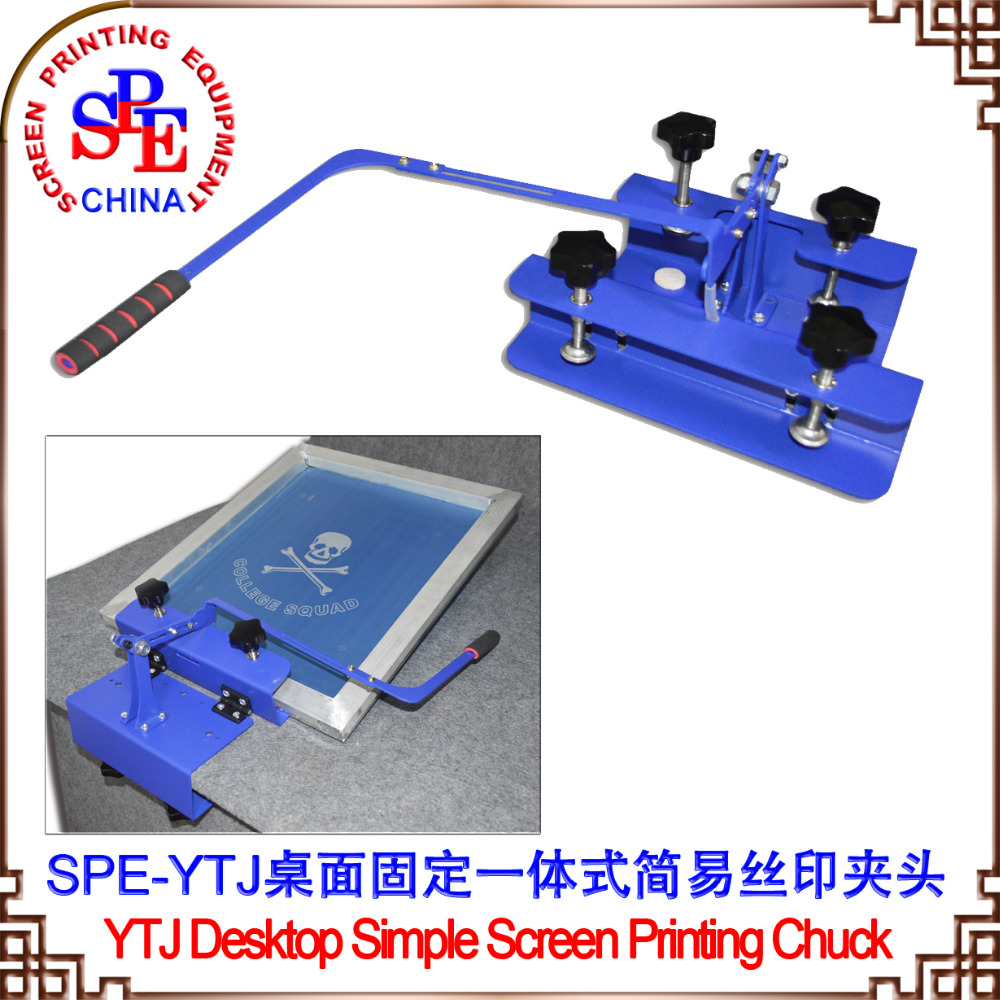 006323 SPEYTJ screen printing clamp silk screen press one color screen press clamp цена