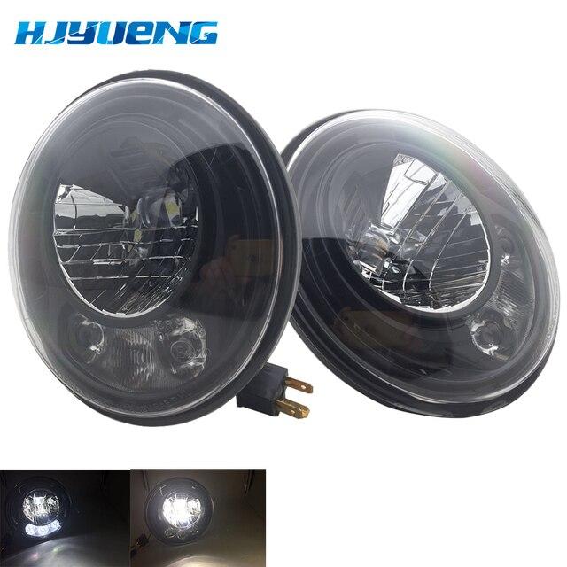 2pcs For Wrangler JK 2 Door 2 Hummer H1 H2 7inch LED Headlights For Lada 4x4 urban Niva 2007~2016 For Suzuki Samurai