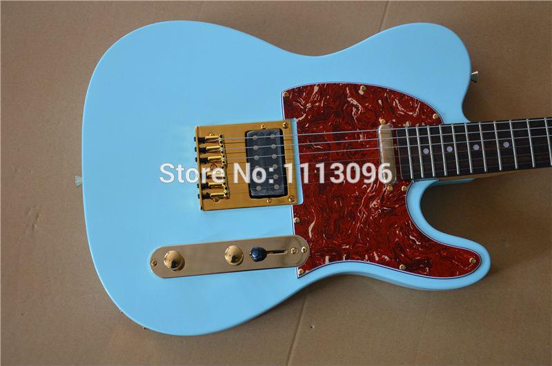 Livraison gratuite en gros guitare/TL guitarra/couleur bleue oem guitare électrique/guitare en chine