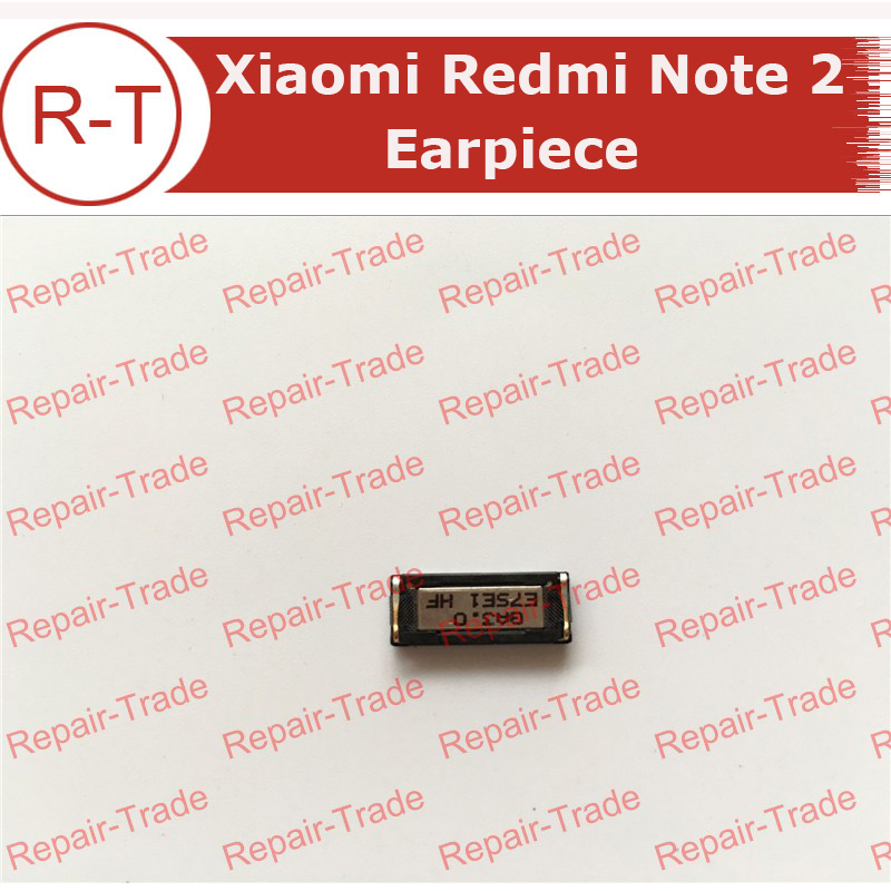 Xiaomi Redmi Note 2 Earpiece Headsets Earpiece Receiver Parts Replacement For Xiaomi hongmi Note2 Smart phone Free Shipping