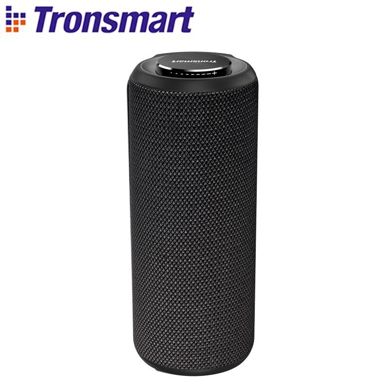 Tronsmart T6 Além de Bluetooth Speaker Soundbar 40W Alto-falantes Portáteis Colunas de Graves Profundos com IPX6 À Prova D' Água, TWS, siri, SoundPulse