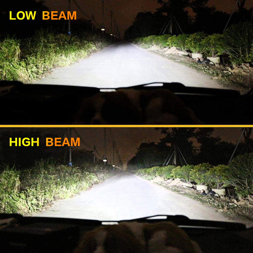 Image 5 - 2X Mini Car Light H7 H4 H11 H8 H1 HB3 9005 9006 H9 HB3 HB4 Bulb LED Headlight Turbo Led 8000LM 70W/SET 6000K 12V Auto Fog Lamp-in Car Headlight Bulbs(LED) from Automobiles & Motorcycles