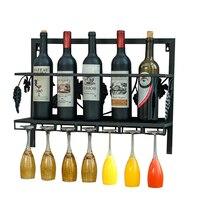 Creative The Goblet Wall Rack Household Restaurant Wine Rack Wine Frame Goblet Holder