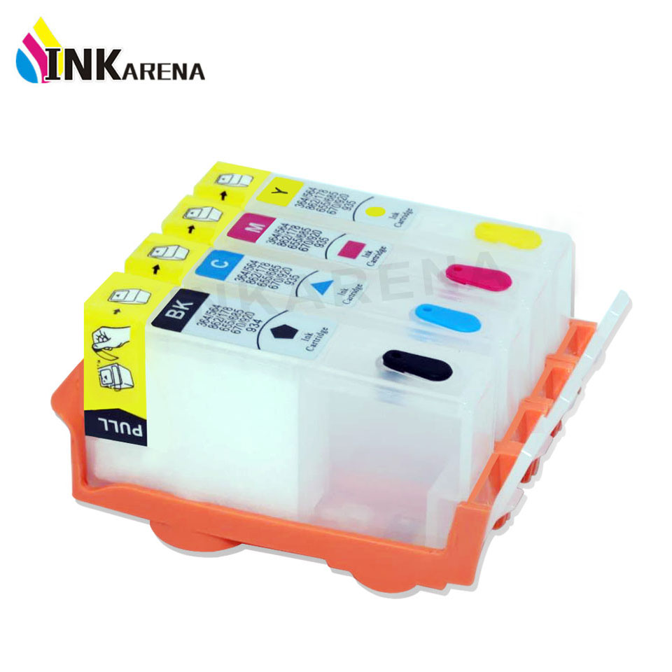 جایگزینی کارتریج سازگار INKARENA برای HP 178 Refillable Ink 7510 B109a B109n B110a B209a B210a 3070A 3520 Refill Printer