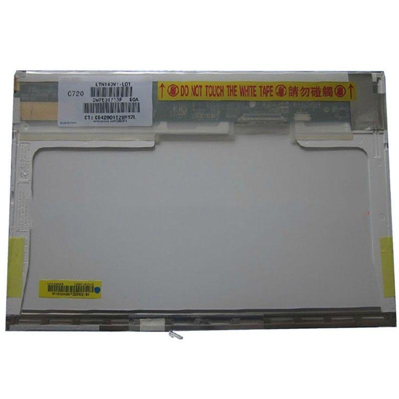 14 laptop lcd screen LTN140W1 L01 LP140WX1 B140EW01 FOR HP DV1000 V2000 notebook display