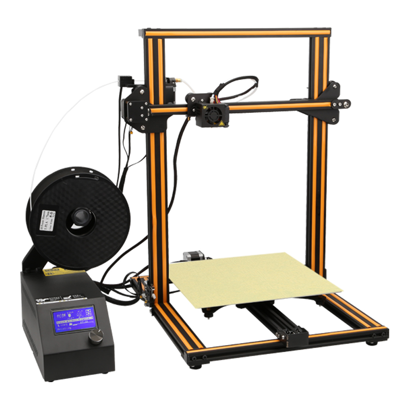 CR-10S S4 S5 Plus Printing Size Creality 3D Printer With Dua Z Rod Filament Detection Resume Print Power Off With Free Shipping plus size drawstring hoodie with christmas decoration print