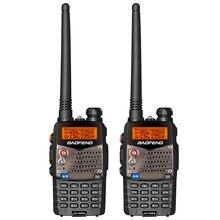 Baofeng Walkie Talkie UV 5RA de doble marca UHF 400 520MHz VHF 136 174 CB Radio 5W 128CH VOX linterna, transceptor FM portátil, 2 uds.