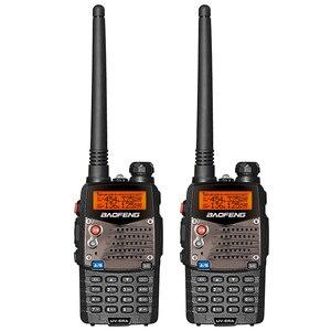 Image 1 - Baofeng Walkie Talkie UV 5RA de doble marca UHF 400 520MHz VHF 136 174 CB Radio 5W 128CH VOX linterna, transceptor FM portátil, 2 uds.
