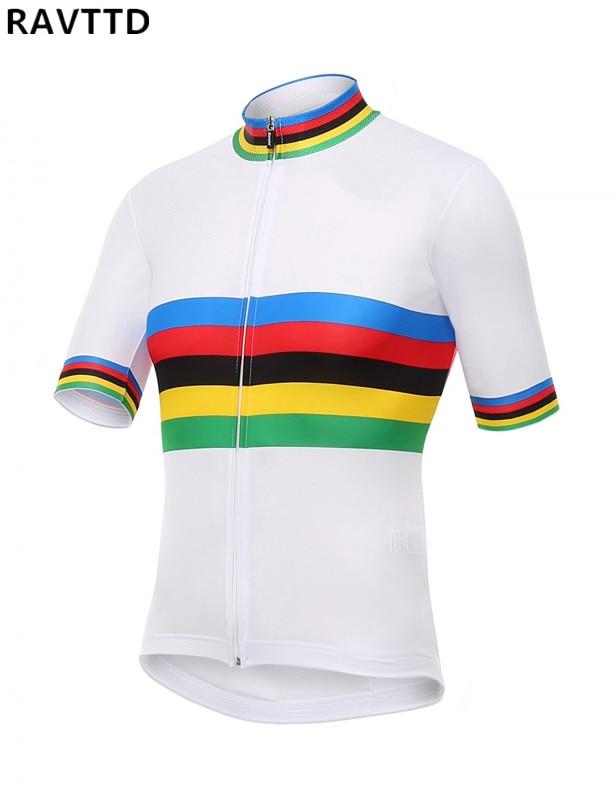 Men s Pro Cycling Jersey Bike Short Sleeve Bicycle Wear Bicycle Sportwear Shirt Cycling Clothing
