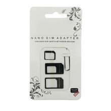 Микронано sim-карта адаптер разъем комплект для iPhone 5 6 7 plus 5s Xiaomi Redmi Note 4 все телефон Стандартный SIM держатель