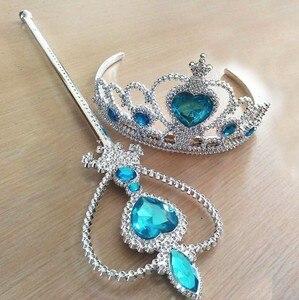 2018 Girls Princess Crown akcesoria do włosów korona ślubna kryształowy diament Tiara opaska obręcz opaski do włosów dla dzieci Party Hairbands