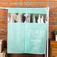 New Large Garment Coat Protector Wardrobe Storage Bag Creative High End Thick Non Woven Fabric Widened