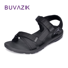 2017 summer comfortable men's beach sandals outdoor shoes non -slip men casual shoe flat flip flops large size 45 good quality sexemara 2017 summer genuine leather sandals women large size flip flops light beautiful comfortable casual shoes woman