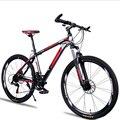 MTB красивый горный велосипед 26 дюймов демпфирующий дисковый тормоз изменение скорости горный велосипед новый двойной тормоз стальная рама ...