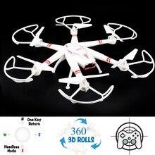 2016 33051 Hexacopter RC Quadcopter 3D Roll Drone met 2.4G 4CH 6 Axis Gyro Een Sleutel Terugkeer Headless Gemakkelijk Fly Modus Kid Gift